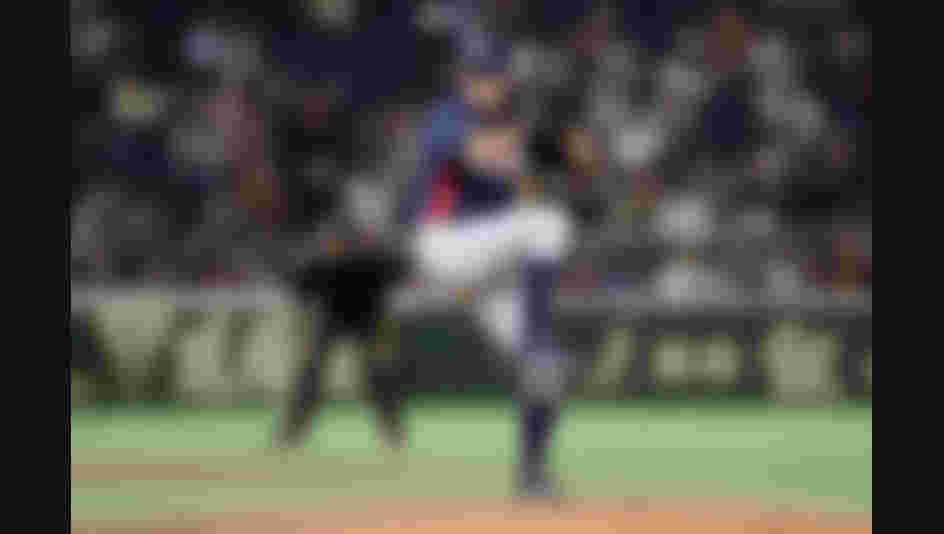 Pitcher Caleb Thielbar #16 of the United States throws in the bottom of 10th inning during the WBSC Premier 12 Bronze Medal final game between Mexico and USA at the Tokyo Dome.