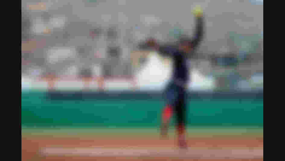Monica Abbott of United States pitches against Canada during the second inning Softball Women Grand Final at the Lima 2019 Pan American Games (Photo by Leonardo Fernandez/Getty Images)