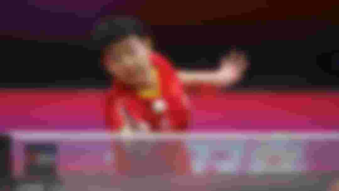 SUN Yingsha plays at 2020 ITTF Women's World Cup