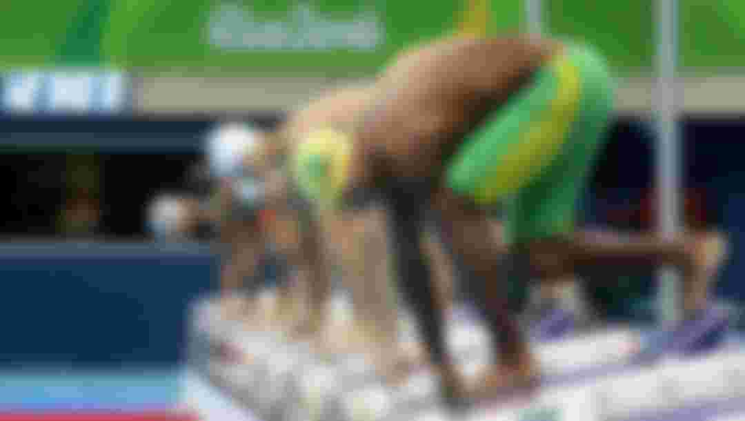 RIO DE JANEIRO, BRAZIL - SEPTEMBER 09:  Gabriel Sousa of Brazil competes in the Men's 100m Butterfly - S8 on day 2 of the Rio 2016 Paralympic Games at the Olympic Aquatics Stadium on September 9, 2016 in Rio de Janeiro, Brazil.  (Photo by Friedemann Vogel/Getty Images)
