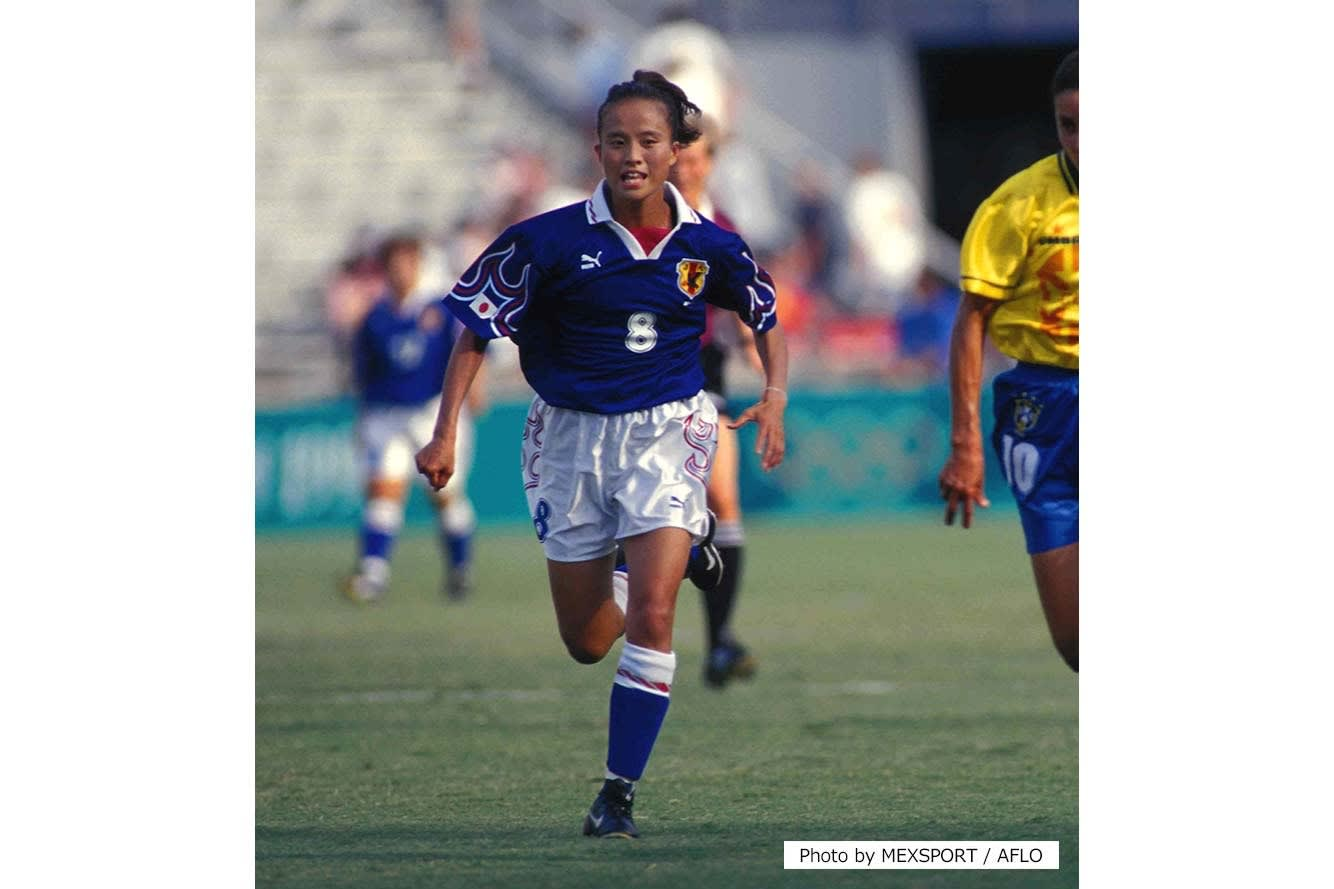 Asako Takakura at the Atlanta 1996 Olympic Games