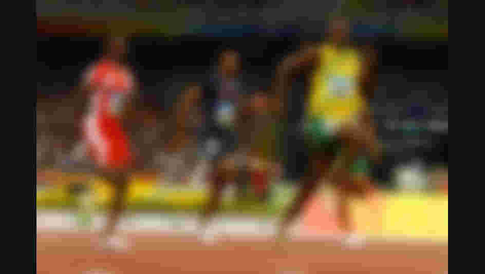 Beijing 2008: Usain Bolt won gold in the 100m final, with a new world record of 9,69s. He also won the 200m event with a world record of 19,30s.