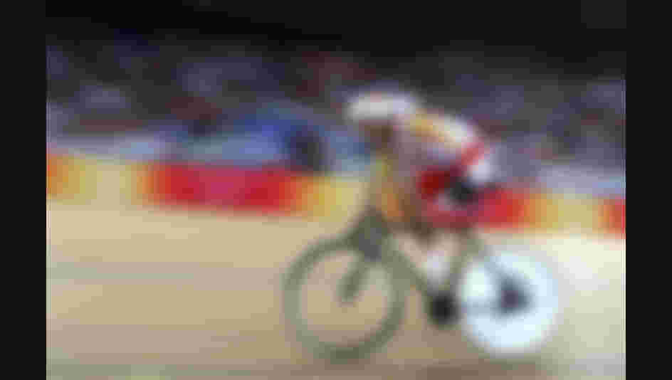 BEIJING - SEPTEMBER 09:  Juan Jose Mendez of Spain competes in the Men's Individual pursuit (LC4) in the Track Cycling event during day three of the 2008 Paralympic Games on September 9, 2008 in Beijing, China.  (Photo by Chris Hyde/Getty Images)
