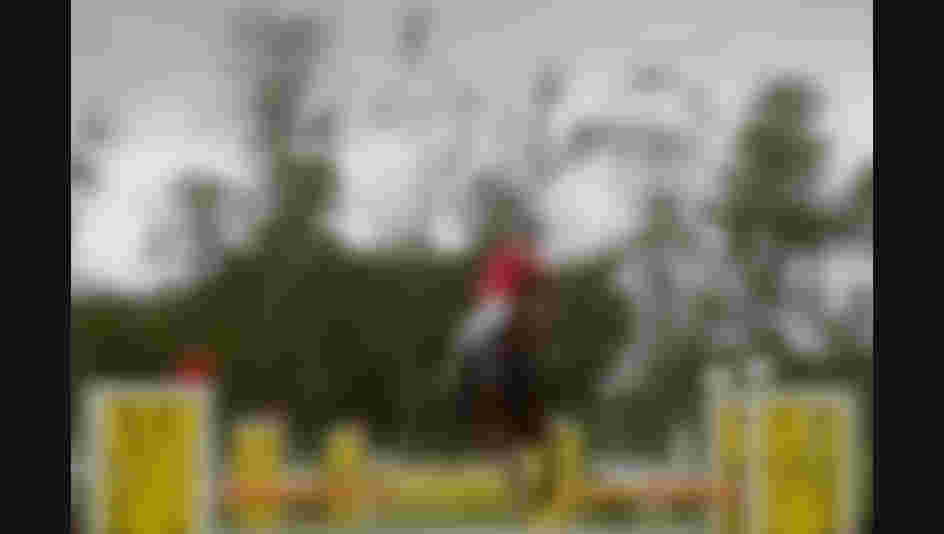 Guinaz Gubaydullina of Russia competes in the Riding during the Women's Modern Pentathlon Tournament - Aquece Rio Test Event for the Rio 2016 Olympics.