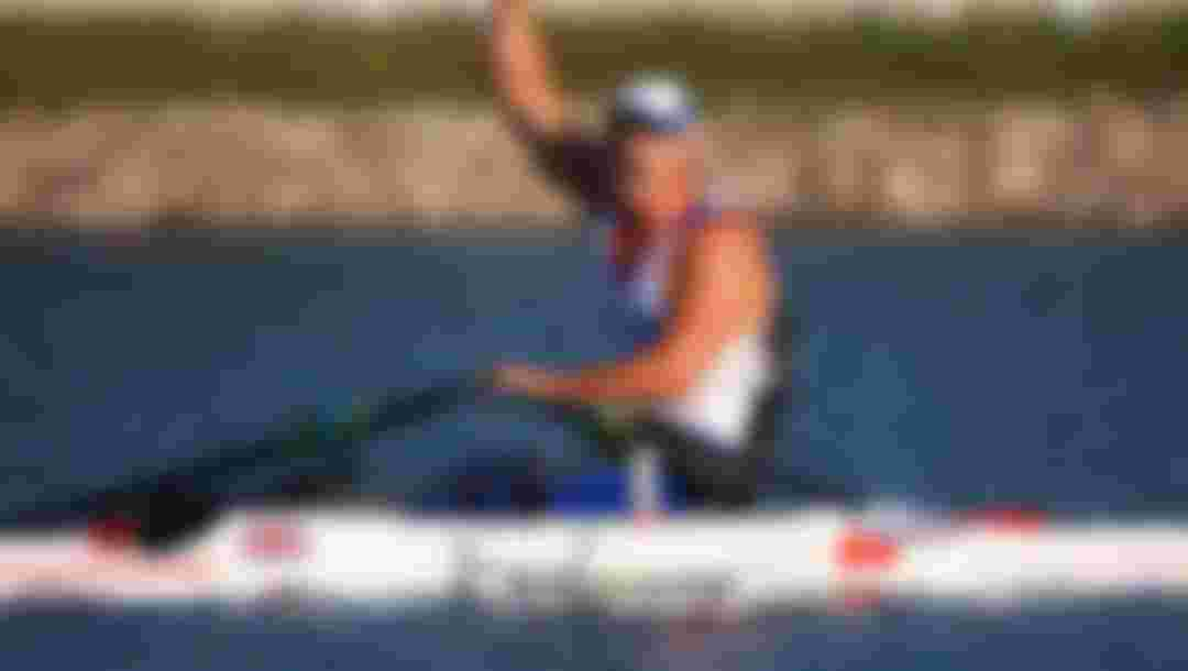 BEIJING - SEPTEMBER 11:  Tom Aggar of Great Britain celebrates after winning the Rowing Men's Single Sculls Final at Shunyi Olympic Rowing-Canoeing Park during day five of the 2008 Paralympic Games on September 11, 2008 in Beijing, China.  (Photo by Feng Li/Getty Images)
