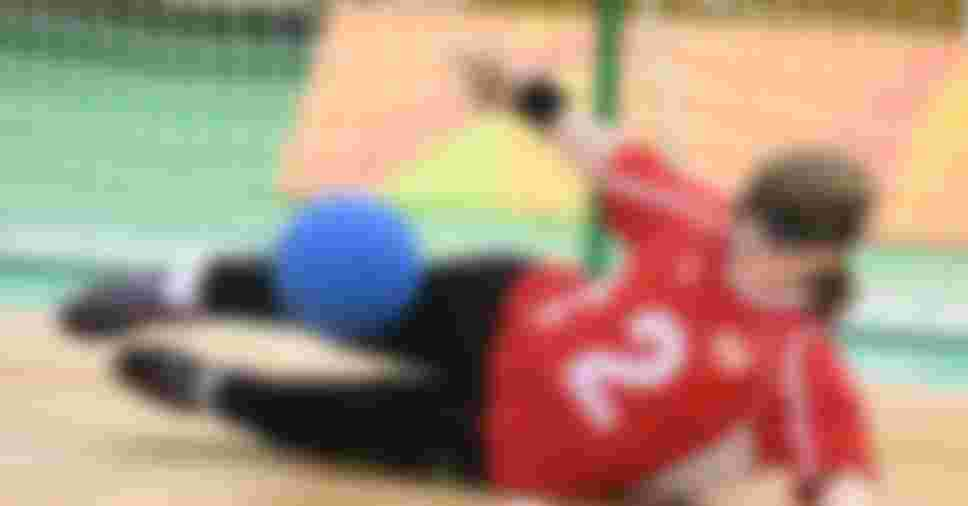 Eiko Kakehata of Japan competes in the women's goalball at the Rio 2016 Paralympic Games
